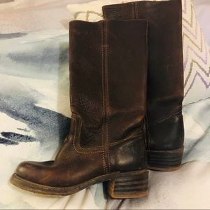 Brown size 6.5 tall Frye boots
